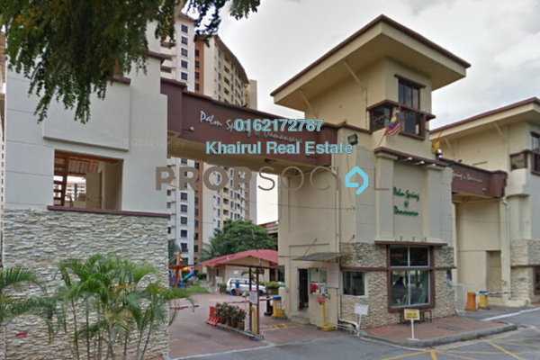 For Sale Condominium at Palm Spring, Kota Damansara Freehold Semi Furnished 2R/2B 450k