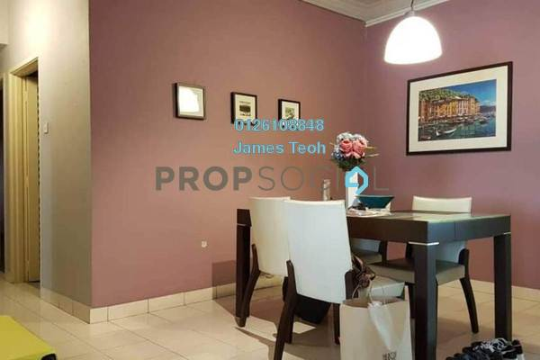 For Sale Apartment at Taman Sentosa, Klang Freehold Semi Furnished 3R/2B 338k