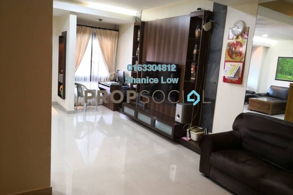 For Sale Terrace at Puteri 12, Bandar Puteri Puchong Freehold Semi Furnished 4R/3B 1.2m