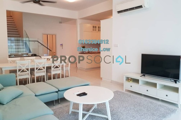 For Rent Townhouse at Sunway SPK 3 Harmoni, Kepong Freehold Fully Furnished 4R/4B 3.7k