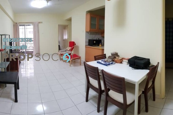 For Sale Apartment at Pelangi Damansara, Bandar Utama Freehold Fully Furnished 3R/2B 350k