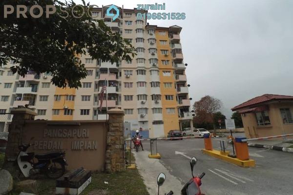 For Sale Condominium at Perdana Impian Apartment, Kajang Freehold Unfurnished 3R/2B 200k