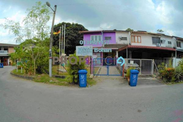 For Sale Terrace at Anggerik Tainia, Bukit Rimau Freehold Unfurnished 4R/2B 340k