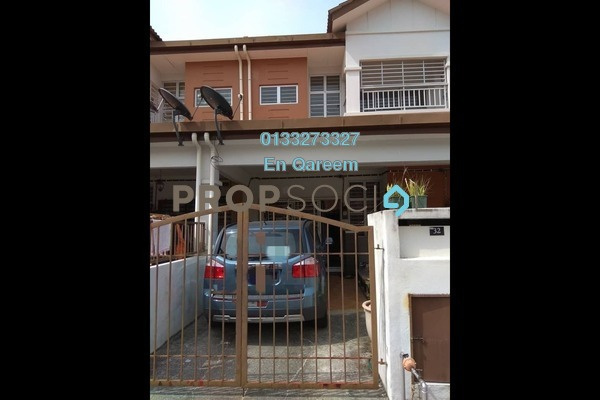 For Sale Townhouse at Taman Seri Alam, Sungai Buloh Leasehold Unfurnished 3R/2B 350k