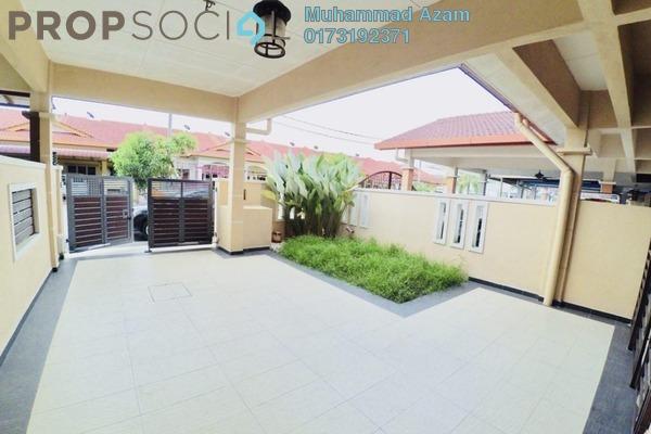 For Sale Terrace at Taman Desa Permai, Meru Freehold Fully Furnished 4R/3B 490k