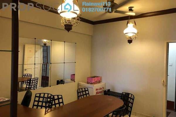 For Rent Condominium at Pelangi Apartment, Mutiara Damansara Freehold Fully Furnished 3R/2B 1.6k