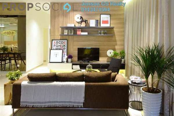 For Sale Condominium at Tuan Residency, Jalan Ipoh Freehold Unfurnished 3R/2B 466k