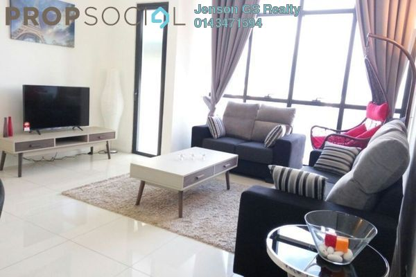 For Sale Condominium at Tuan Residency, Jalan Ipoh Freehold Unfurnished 3R/2B 455k