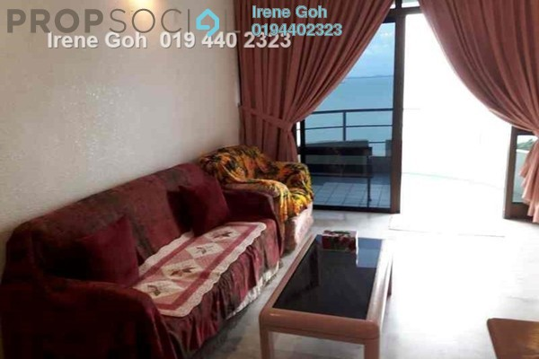 For Rent Condominium at Marina Tower, Tanjung Bungah Freehold Fully Furnished 3R/2B 1.7k