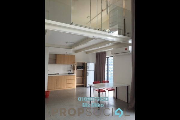 For Rent Duplex at Empire City, Damansara Perdana Freehold Fully Furnished 1R/2B 1.5k