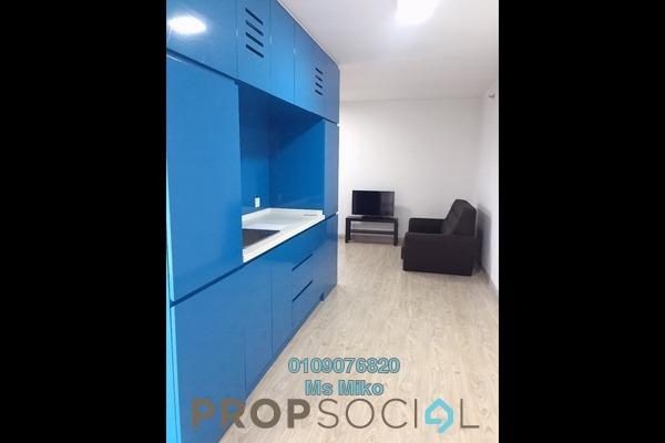 For Rent SoHo/Studio at Empire City, Damansara Perdana Freehold Semi Furnished 1R/1B 1k