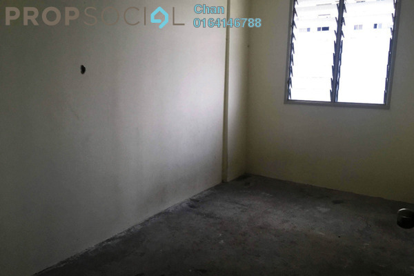 For Sale Apartment at Sri Saujana Apartment, Georgetown Freehold Unfurnished 3R/2B 210k