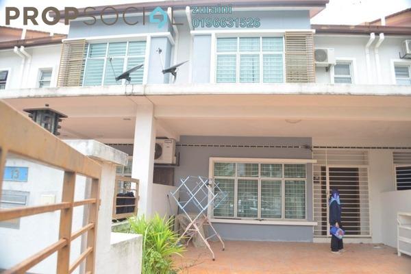 For Rent Terrace at Taman Bukit Mewah, Kajang Freehold Fully Furnished 4R/3B 1.5k