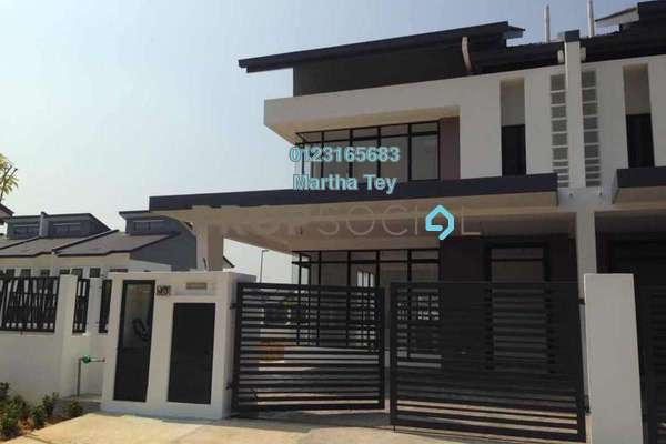 For Rent Superlink at M Residence, Rawang Freehold Unfurnished 4R/3B 1.5k