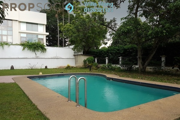 For Rent Bungalow at Taman U-Thant, Ampang Hilir Freehold Semi Furnished 5R/4B 18k