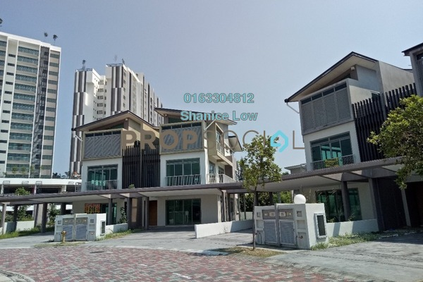 For Sale Semi-Detached at Apicalia @ D'Island, Puchong Freehold Unfurnished 5R/5B 1.66m