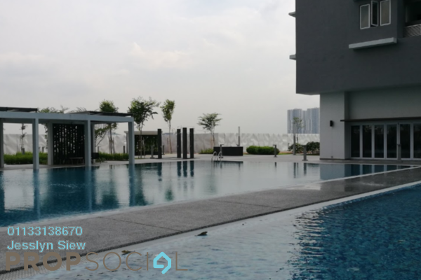 For Sale Serviced Residence at Aurora Residence @ Lake Side City, Puchong Freehold Unfurnished 3R/2B 520k
