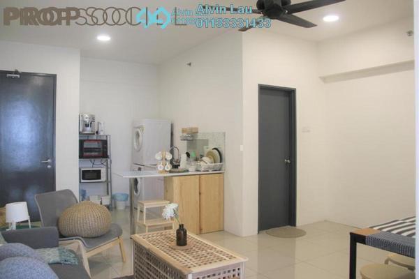 For Rent Serviced Residence at Menara U2, Shah Alam Freehold Semi Furnished 2R/1B 1.2k