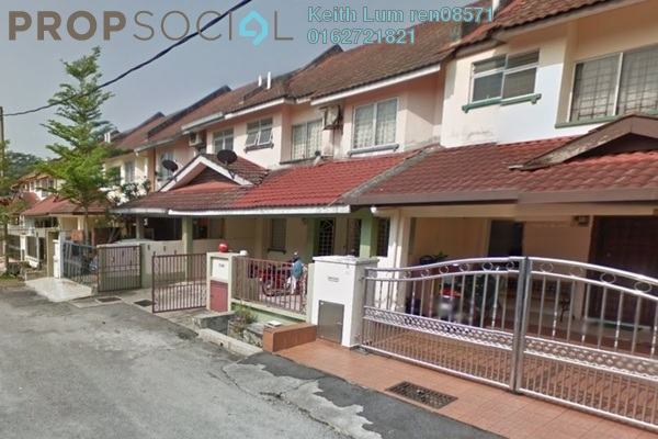 For Sale Terrace at Taman Bukit Kinrara, Bandar Kinrara Freehold Semi Furnished 4R/3B 800k