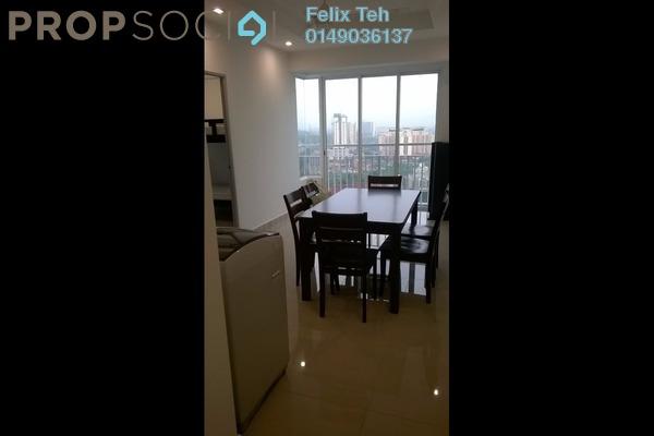 For Rent Condominium at Menara U2, Shah Alam Freehold Fully Furnished 2R/1B 1.45k