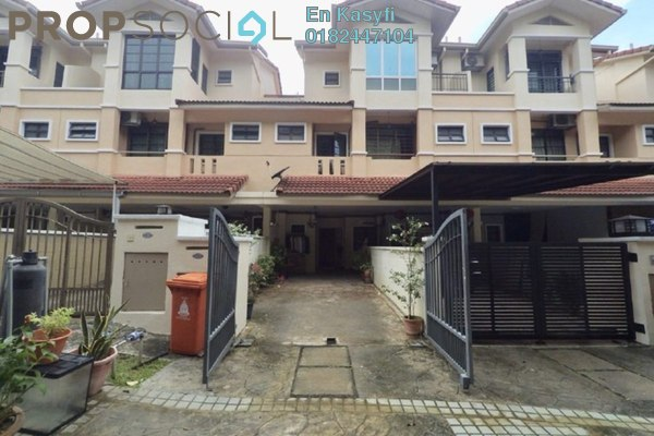 For Sale Townhouse at Parkville Garden Townhouse, Sunway Damansara Freehold Fully Furnished 3R/3B 920k