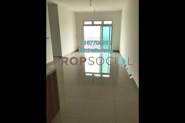 For Sale Serviced Residence at Twin Galaxy, Johor Bahru Freehold Semi Furnished 2R/2B 668k