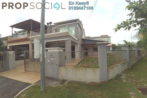 For Sale Terrace at Bandar Warisan Puteri, Seremban Freehold Unfurnished 4R/3B 550k