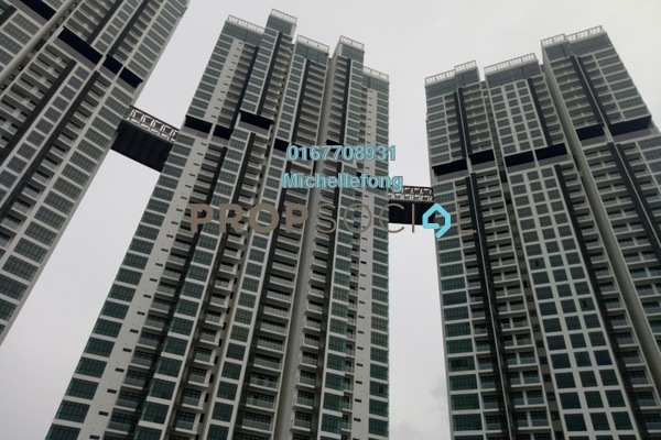 For Sale Serviced Residence at Green Haven, Johor Bahru Freehold Semi Furnished 3R/2B 688k