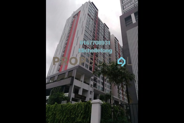For Rent Serviced Residence at Greenfield Regency, Skudai Freehold Semi Furnished 3R/2B 1.3k