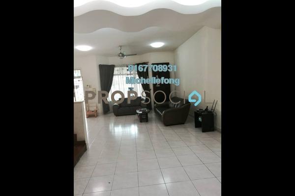 For Sale Terrace at Taman Sutera Utama, Skudai Freehold Semi Furnished 4R/3B 868k