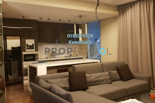 For Rent Condominium at Kiara View, TTDI Freehold Fully Furnished 3R/2B 4k