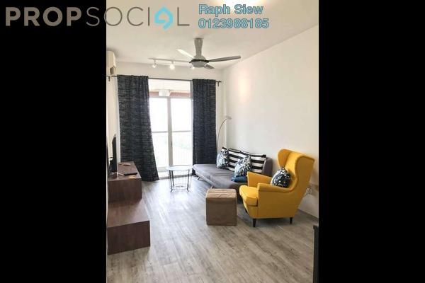 For Rent Condominium at Perdana View, Damansara Perdana Freehold Fully Furnished 3R/2B 1.9k