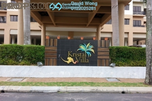 For Sale Condominium at Kristal Villa, Kajang Freehold Unfurnished 3R/2B 350k