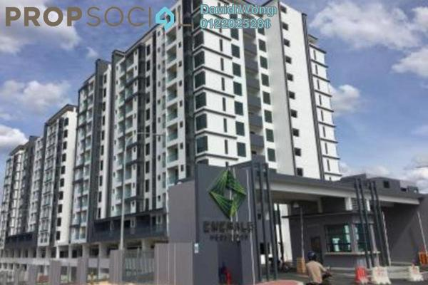 For Sale Condominium at Emerald Residence, Bandar Mahkota Cheras Freehold Unfurnished 3R/2B 488k