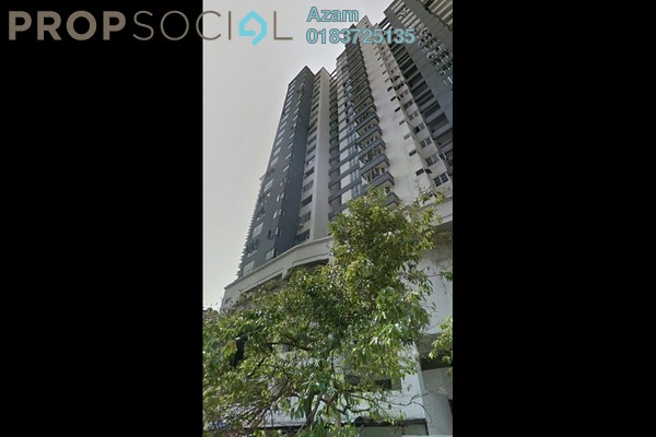 For Sale Condominium at Sri Emas, Pudu Freehold Semi Furnished 3R/2B 699k