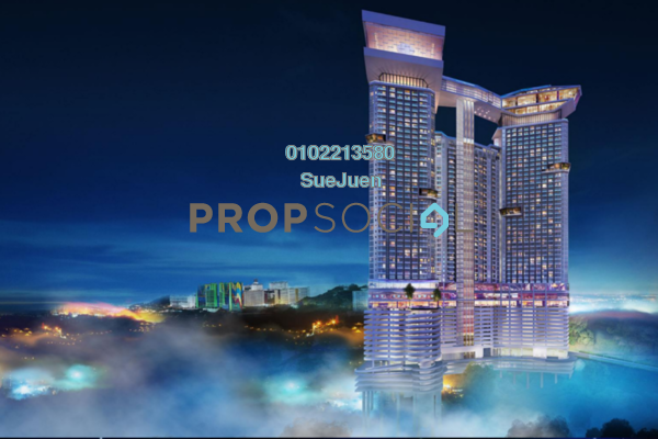 For Sale Condominium at Grand Ion Majestic, Genting Highlands Leasehold Fully Furnished 0R/1B 551k