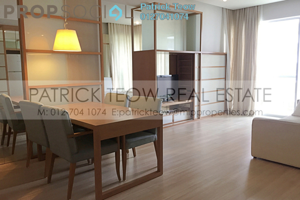 For Rent Condominium at VERVE Suites, Mont Kiara Freehold Fully Furnished 2R/2B 3.3k