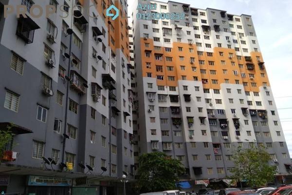 For Sale Apartment at Sri Penara, Bandar Sri Permaisuri Leasehold Semi Furnished 2R/1B 210k