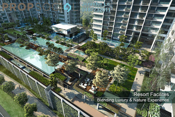 For Rent Condominium at 1Medini, Iskandar Puteri (Nusajaya) Freehold Fully Furnished 2R/2B 1.75k
