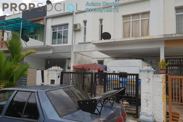 For Sale Terrace at Taman Pulai Indah, Pulai Freehold Unfurnished 4R/3B 365k