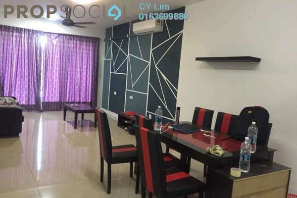 For Rent Condominium at Covillea, Bukit Jalil Freehold Fully Furnished 3R/2B 2.95k