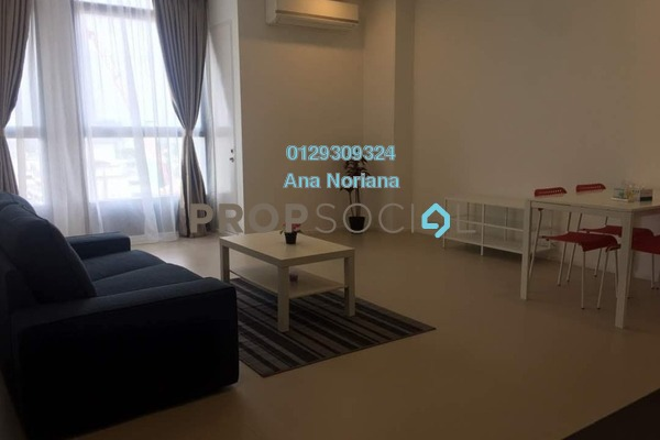 For Rent Apartment at Arcoris, Mont Kiara Freehold Fully Furnished 1R/1B 2.6k