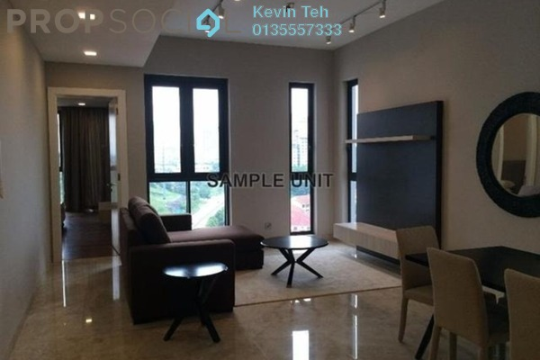 For Sale Condominium at Icon Residence (Mont Kiara), Dutamas Freehold Fully Furnished 2R/2B 1.45m