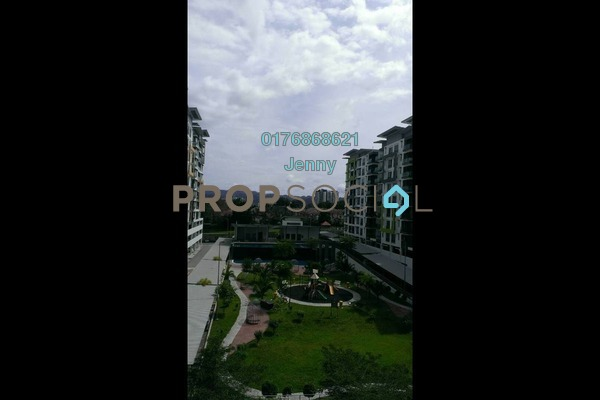 For Rent Condominium at Mahkota Garden Condominium, Bandar Mahkota Cheras Freehold Semi Furnished 4R/2B 1.4k