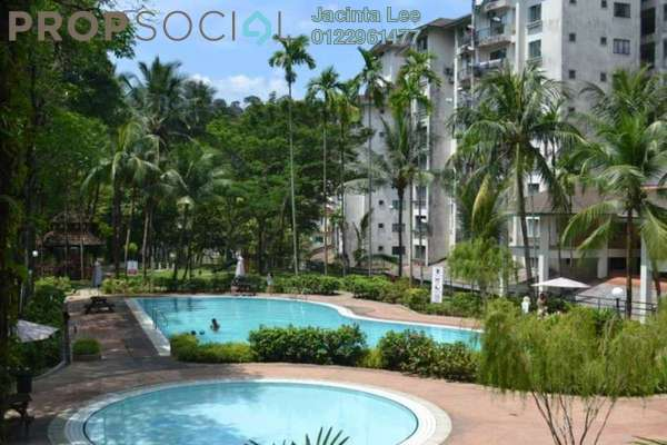 For Sale Condominium at Emerald Hill, Ampang Leasehold Semi Furnished 3R/2B 292k