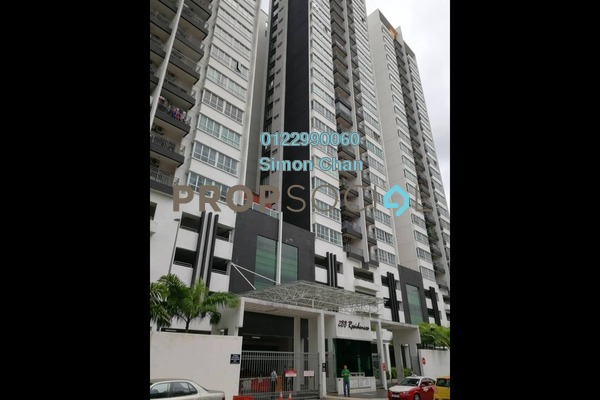 For Sale Condominium at 288 Residences, Kuchai Lama Freehold Semi Furnished 4R/4B 690k