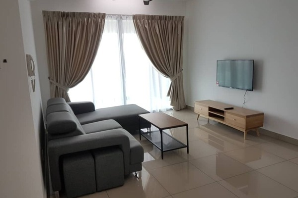 For Rent Condominium at Kiara Residence 2, Bukit Jalil Freehold Fully Furnished 4R/2B 2.5k