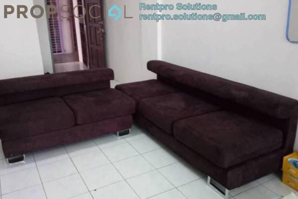 For Rent Apartment at Kasturi Tiara Apartment, Cheras South Freehold Semi Furnished 3R/2B 1.1k