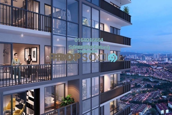 For Sale Condominium at Emporis, Kota Damansara Freehold Semi Furnished 3R/2B 626k