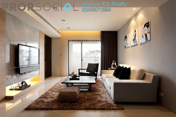 For Sale Condominium at Tuan Residency, Jalan Ipoh Freehold Unfurnished 3R/2B 461k